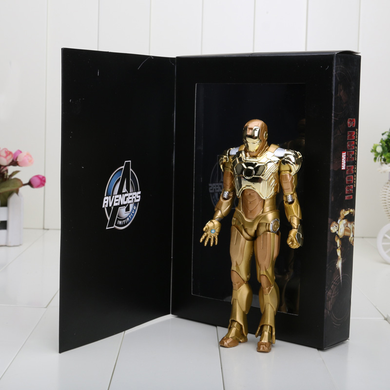 Free shipping New Arrival 18cm Super Hero Iron Man Mark ...