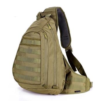 Мужской рюкзак на одно плечо, военный рюкзак на одно плечо, 2019