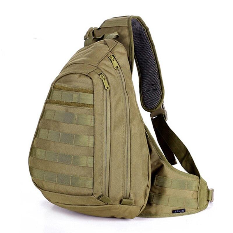 Prix pour Nouveau 2016 poinçonnage sac militaire Sling molle de sac à dos Hommes sacs à dos à bandoulière Une Seule Épaule Homme grand sling sac à dos swat sac