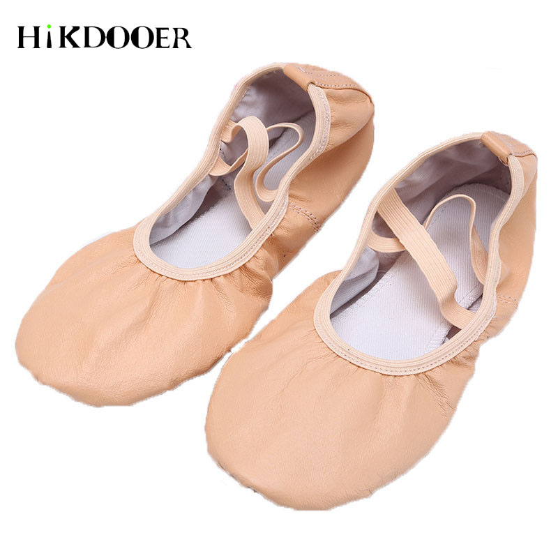 Girls Ballet Shoes Leather Soft Dance Shoes For Children Female Adult Practice Gymnastic Cat Claw Shoes 2019Girls Ballet Shoes Leather Soft Dance Shoes For Children Female Adult Practice Gymnastic Cat Claw Shoes 2019