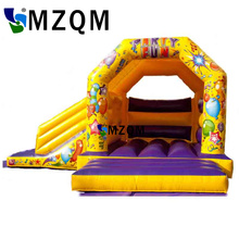 2017 New style MZQM commercial inflatable bouncer inflatable balloon bouncer free blower