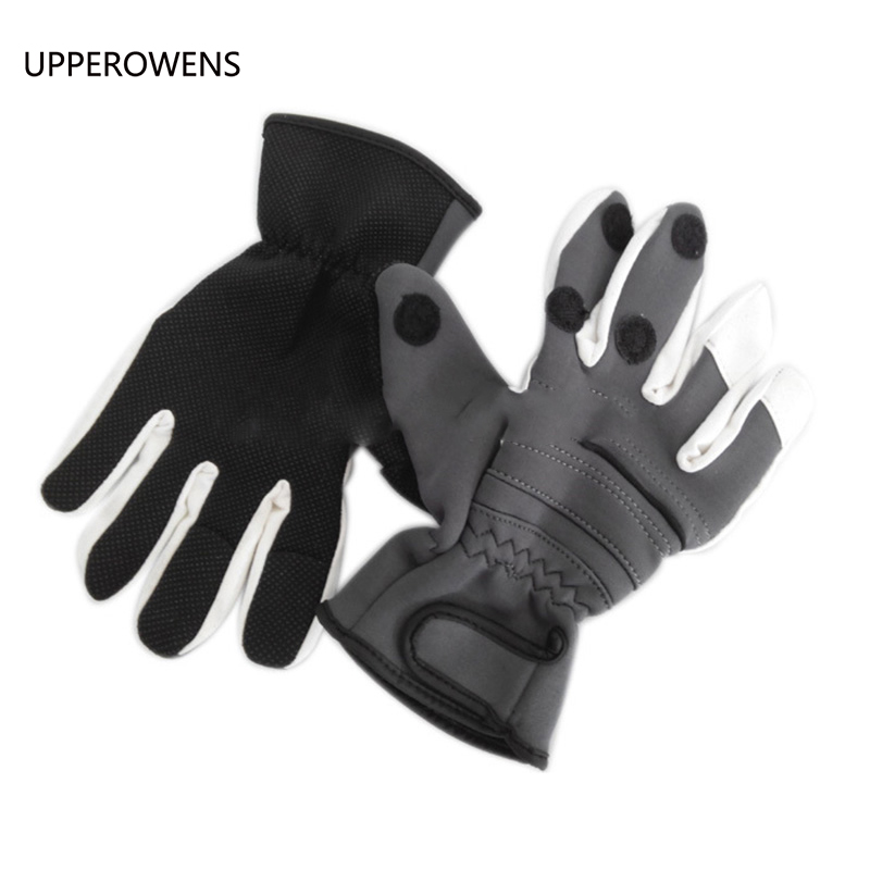 1 pair Strong Fishing Glove Outdoor Glove Durable Accessories Fit For Fishing Equipment Free Shipping