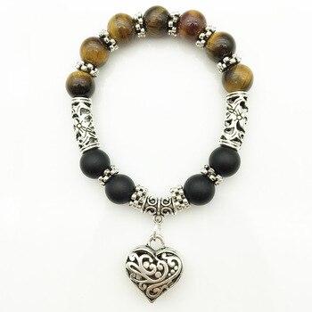 7 Chakra Bracelets Bangle Healing Stone Pray Mala7