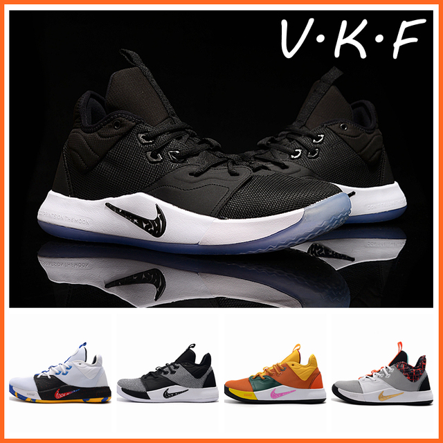 2019 VKF Basketball Shoes Men George 3s Zapatos Hombre Sneakers Paul 2 shoes spor ayakkabi bayan uptempo size 36 46 Kyrie curry