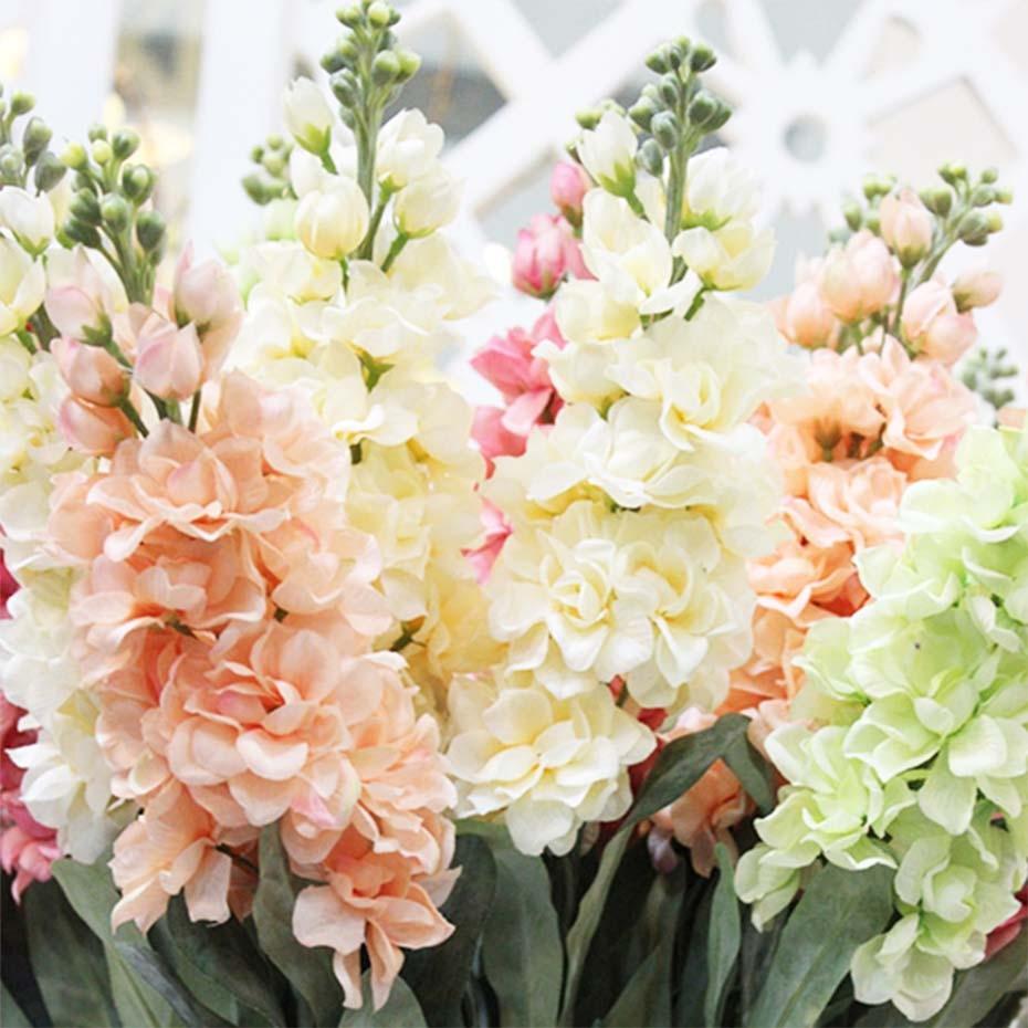 Hyacinth violet flower fake silk artificial flowers mariage birthday bullet point izmirmasajfo