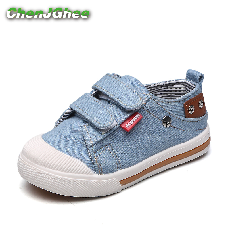 Mumoresip Kids Shoes For Girls Boys Sneakers Jeans Canvas Children Shoes Denim Running Sports Fashion Baby Sneakers Casual Shoes