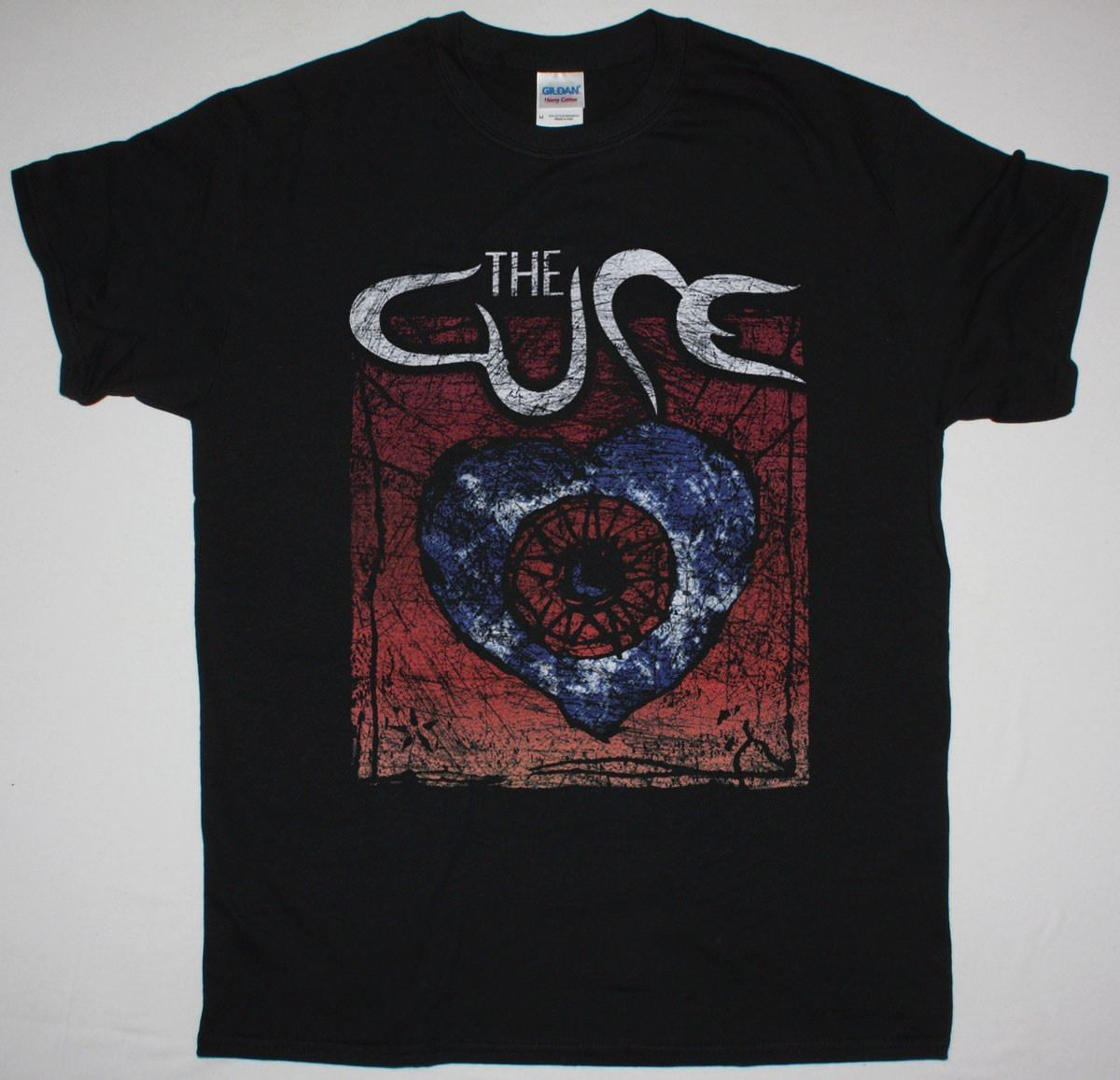 THE CURE FRIDAY I'M IN LOVE MENS BLACK T