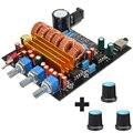 New TPA3116 2.1 Digital Amplifier Board Class D 3 Channel DC18V-24V 2*50W+100W Free Shipping 12003203