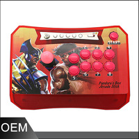 2 Players Wireless Arcade Stick Controller Pandora Box 5 Wireless Arcade Stick Joystick Built In 960
