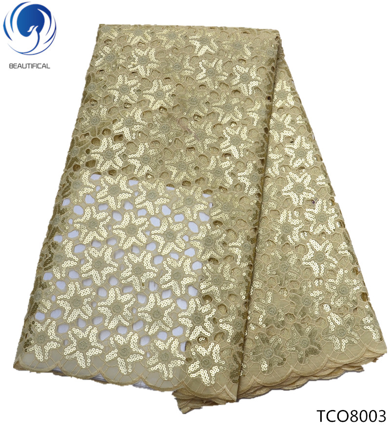 BEAUTIFICAL gold african lace gold organza fabric with sequins organza lace fabrics in switzerland in china 5yards/lot TCO80BEAUTIFICAL gold african lace gold organza fabric with sequins organza lace fabrics in switzerland in china 5yards/lot TCO80