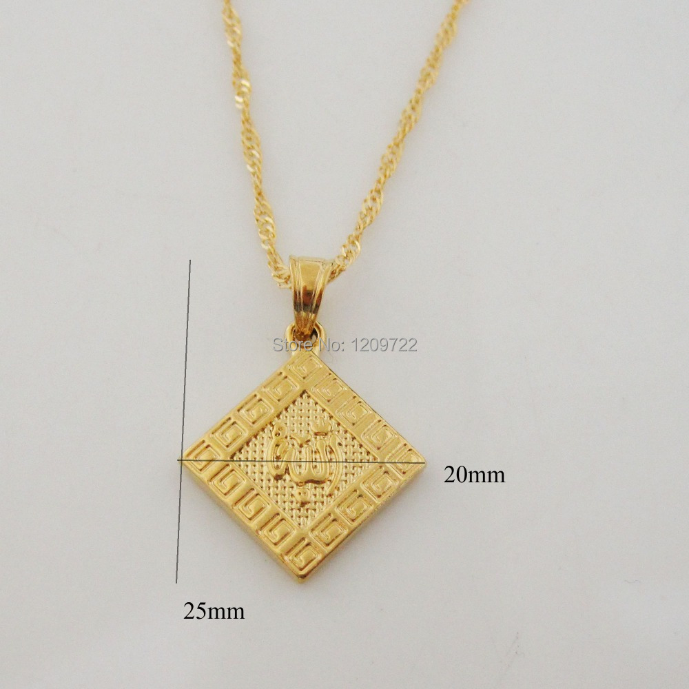 fashion men length jewelry filling square pendant charms chains wholesale chain mens hip male handmade hop gold product for necklace pendants pieces design