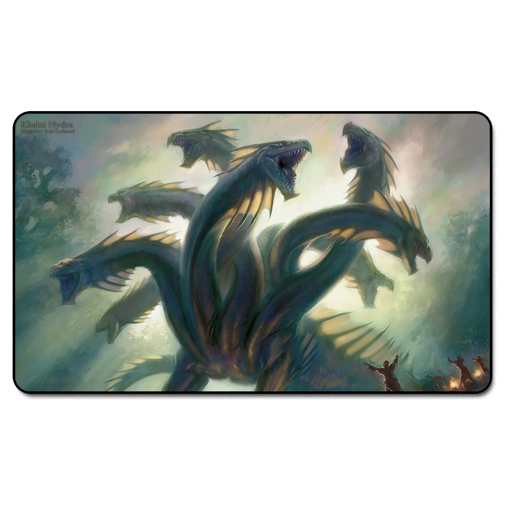 ( Khaini Hydra Playmat) MGT Playmat, Magical Board The Games Proxy Play Mat,Custom Playmat Design with Free Bag ...