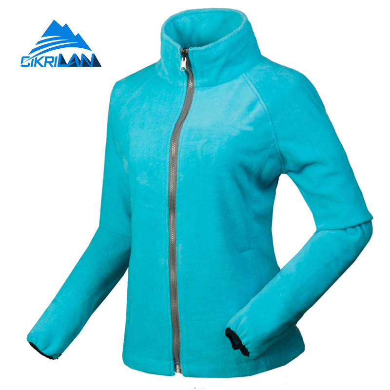 818727c90 Cikrilan Hiking Camping Ski Chaquetas Mujer Outdoor Sport Windstopper  Winter Jacket Women Warm With Coat Detachable Fleece Inner-in Hiking Jackets  from ...