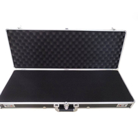 860x310x115mm Aluminum Toolbox Impact resistant safety case Long equipment case Suitcase with pre cut foam storage case tool