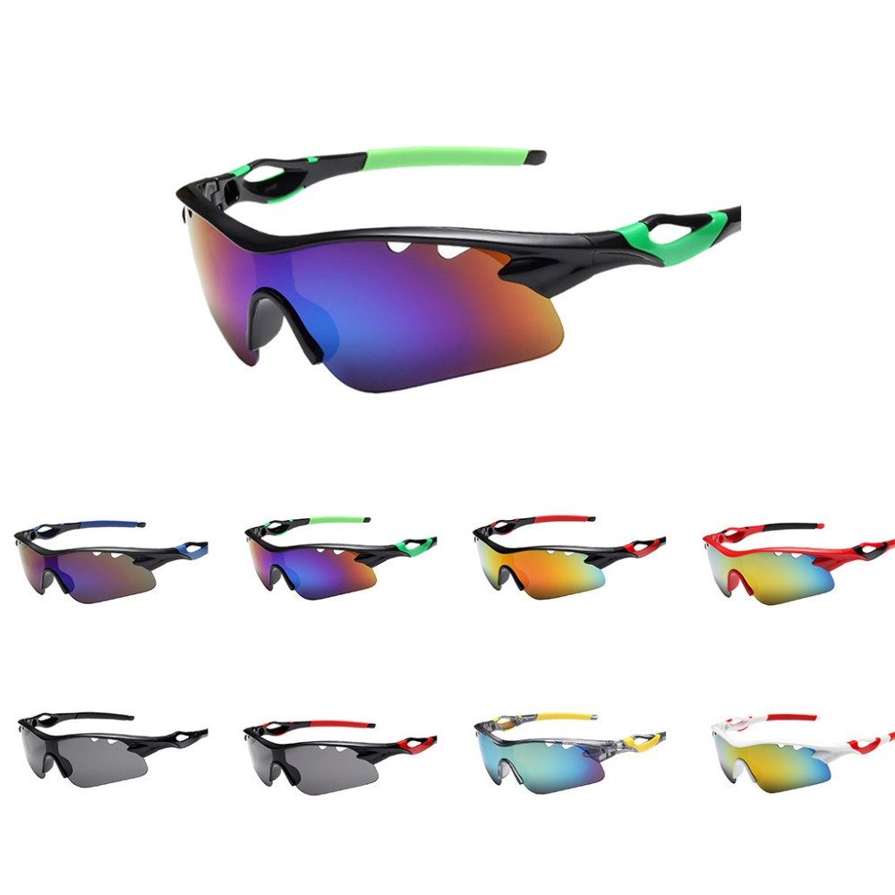 Fashional Cycling Eyewear Unisex Outdoor Sunglass Bike Cycling Fishing Glasses Bicycle Sports Sun Glasses Riding Goggles poc#080