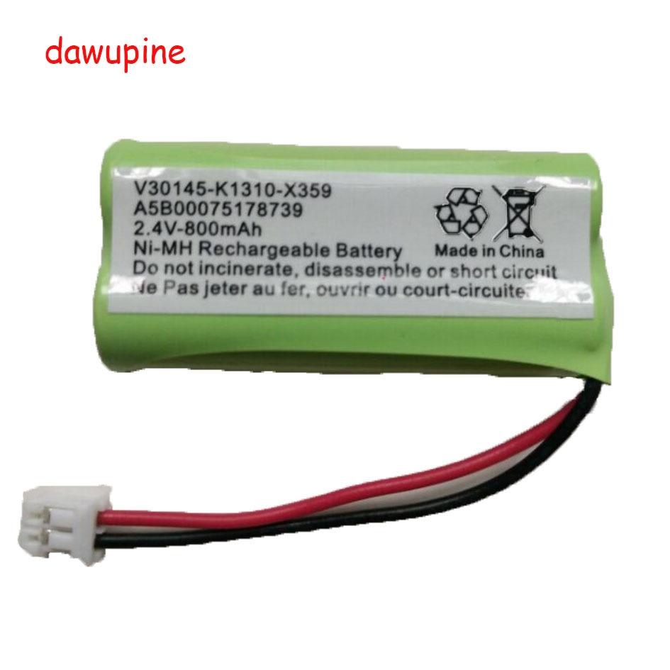 Dawupine 2.4 V 800 MAH NI-MH Bateria Para SIEMENS A120 A160 A165 A240 C28 C42 C360 A5B000751787 V30145-K1310-X359 Telefone Sem Fio