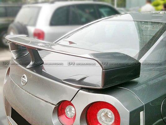 FRP Aile Arrière Jambe Pour Nissan R35 RTM En Fiber De Verre Spoiler Lever Levage Bloc