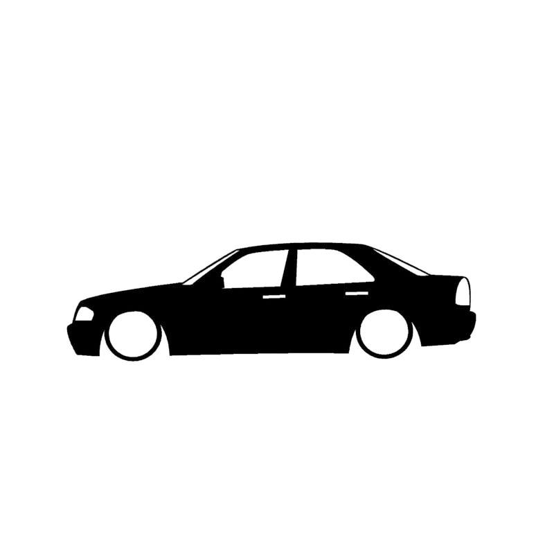 Оптовая 10/ 20шт/ низкий Мерседес АМГ наброски мультфильм автомобиль наклейки автомобиль логотип автомобиля окно тела автомобиля OEM черный/щепка наклейки