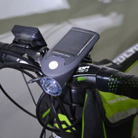 4 Modes 3W Bike Bicycle USB Solar Power Light Rechargeable Front Head Light Riding Lighting 360