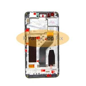 """Image 3 - מקורי שחור עבור 5.7 """"Huawei Google Nexus 6P LCD תצוגת מסך מגע Digitizer עם מסגרת עצרת החלפת נקסוס 6P LCD"""
