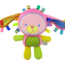 Baby Pacify Doll Plush Toys  Baby Rattles Animal Hand Bells