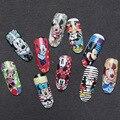1 Hoja Nail Art Pegatina de Mickey Mouse Pegatinas de Uñas de Transferencia de la Etiqueta engomada Para El Arte Del Clavo Decoración de Uñas Accesorios