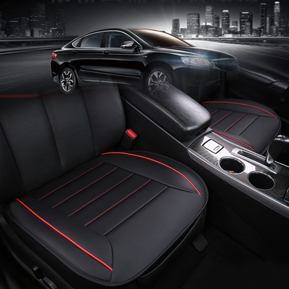 Universal Automobiles Car Seat Cushion Pad Four Seasons Single Seat Mat Bamboo Charcoal Seat Cover Car-styling