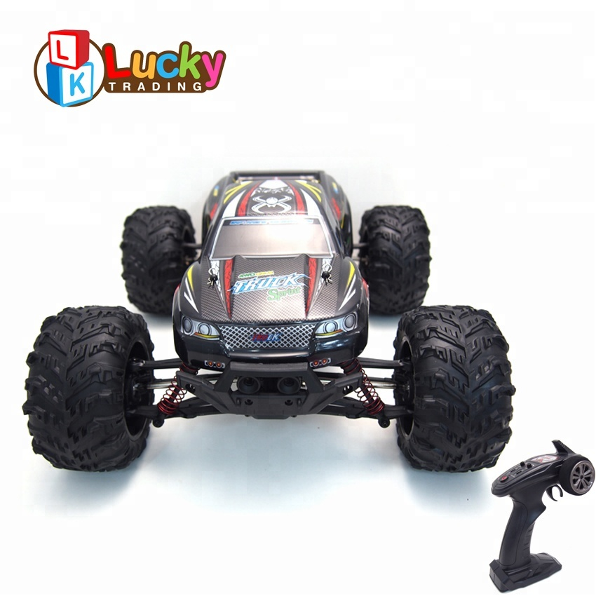 Unique Design 2.4G Electric High Speed RC Racing Model Car 1:10 Remote Control Car Truck Monster RC Buggy High Quarity Wltoys