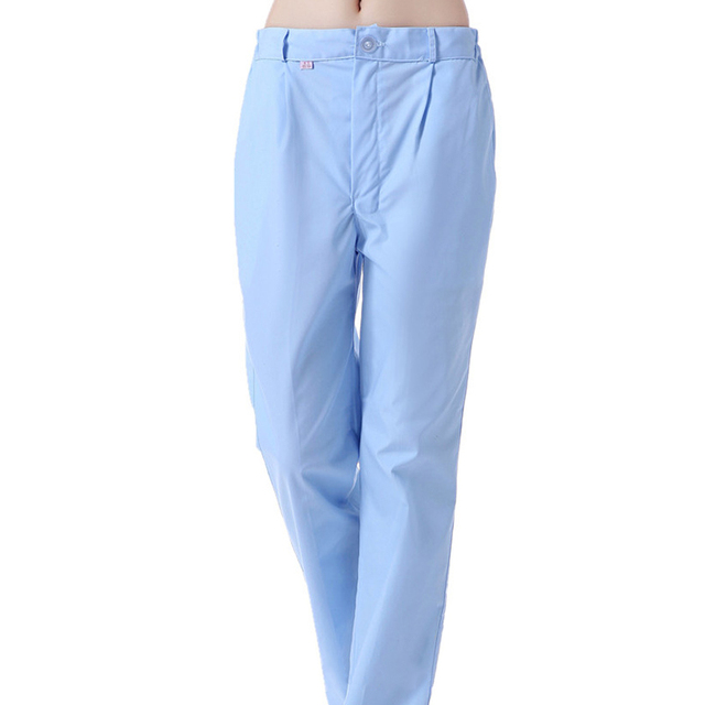 f806c1f28fe Women Medical Uniforms Pants Doctors Nursing Workwear Hospital Nurse  Uniforms Pants Elastic Waist Trousers Nursing Scrub