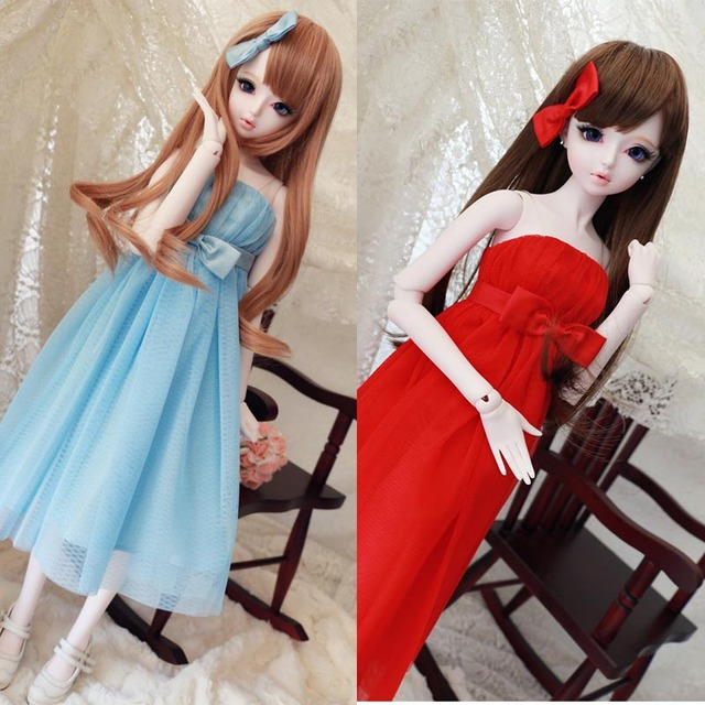 2015 Hot Sale SD BJD Doll Accessories Fashion Beautiful Clothing Gown 1/3 1/4 BJD Dress 1