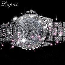 Lvpai 2019 New Arrive Silver Luxury Women Dress Watch Rhines
