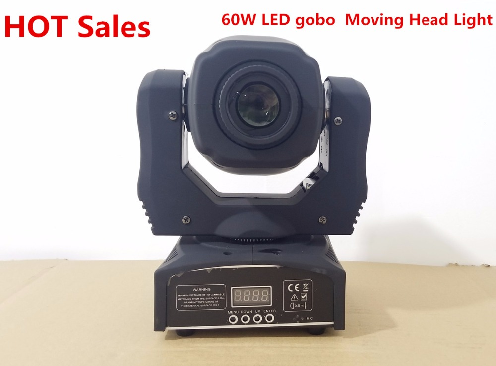 60W LED Spot Moving Head Light USA Luminums 60W LED DJ Spot Light 60W Gobo Moving