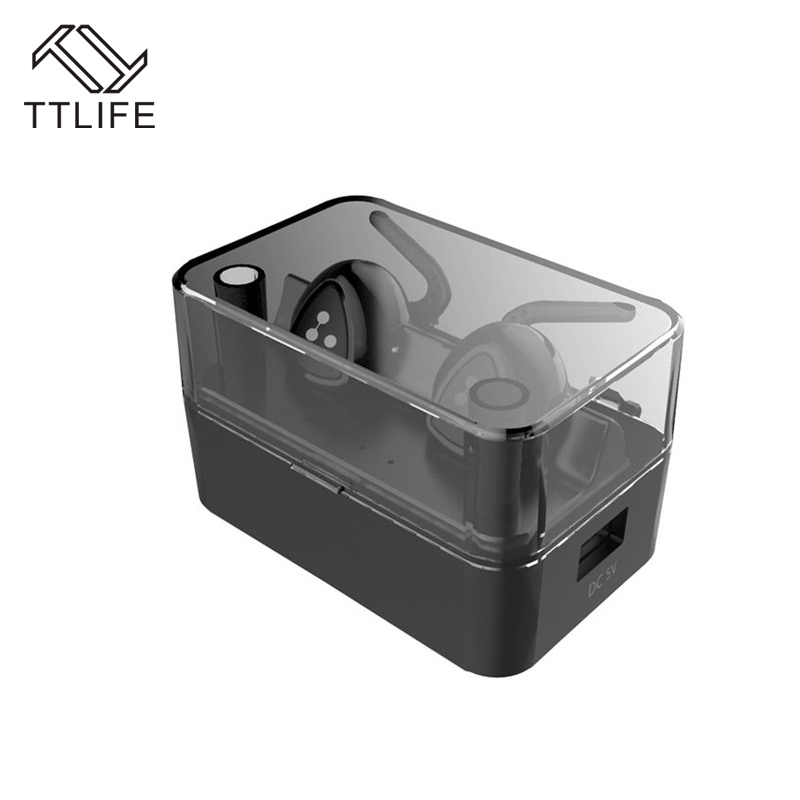 TTLIFE D900 Mini Wireless Bluetooth 4.1 Earphone Stereo Headset Wireless Headphones Handsfree Earbuds with Mic for iPhone 7 Plus ttlife new mini stereo car kit bluetooth headset wireless earphone handsfree auriculares with mic with charging dock for iphone