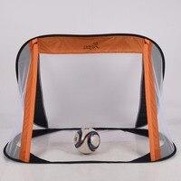 Kids Foldable Children Portable Football Training Target Net Soccer Goal Net Door Gate For Park Beach