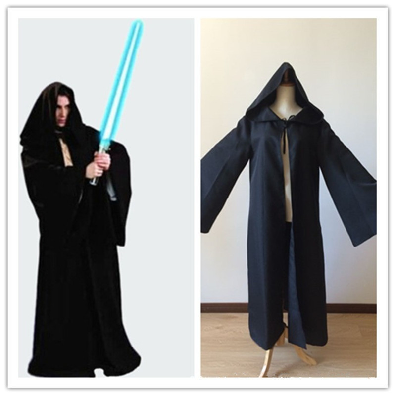 New Arrival Star Wars Darth Vader Jedi Manteau Hooded Black Robe For Adult Unisex Cloak Costume Anime Cosplay Costumes XM001