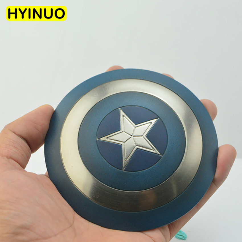 2 Models 1:6 Scale Super Hero Captain America Shield Alloy Model Figure Fit For 12 Body Action Figures Doll Accessories2 Models 1:6 Scale Super Hero Captain America Shield Alloy Model Figure Fit For 12 Body Action Figures Doll Accessories