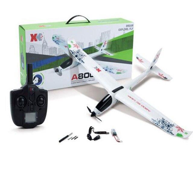 780mm מוטת כנפיים A800 מטוסי דגם 5CH 6G לטוס מטוסי כנף קבועה RC מטוס חג המולד מתנת יום הולדת
