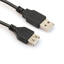 2.3ft 60cm USB Male To Female Extension Extender Data M/F Adapter Cable Printer Scanners Digital Camera Extender Extender Cable