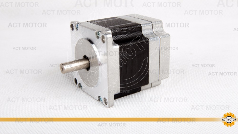 free to EU ACT 57BLF01  NEMA23 brushless motor   24V    63W   motor length 59MM stels blf h6 24 28