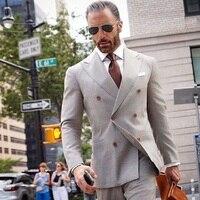 Двубортный Блейзер мужские костюмы умный официальный смокинг деловые костюмы для свадебного костюма мужской пиджак жениха и брюки под зак