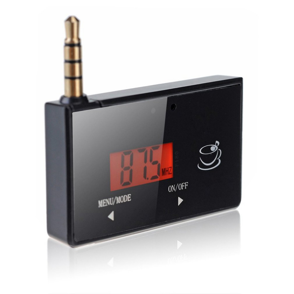 Heißer Professionelle Drahtlose Mini Fm Transmitter Auto Mp3 Player Display Musik Audio Für Handys Tablet Pc Mp3 Player Empfänger