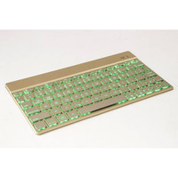 Luxury Aluminium Bluetooth Keyboard For Tablet Compatible With Apple Samsung Lenovo Asus Huawei Amazon Acer Microsoft