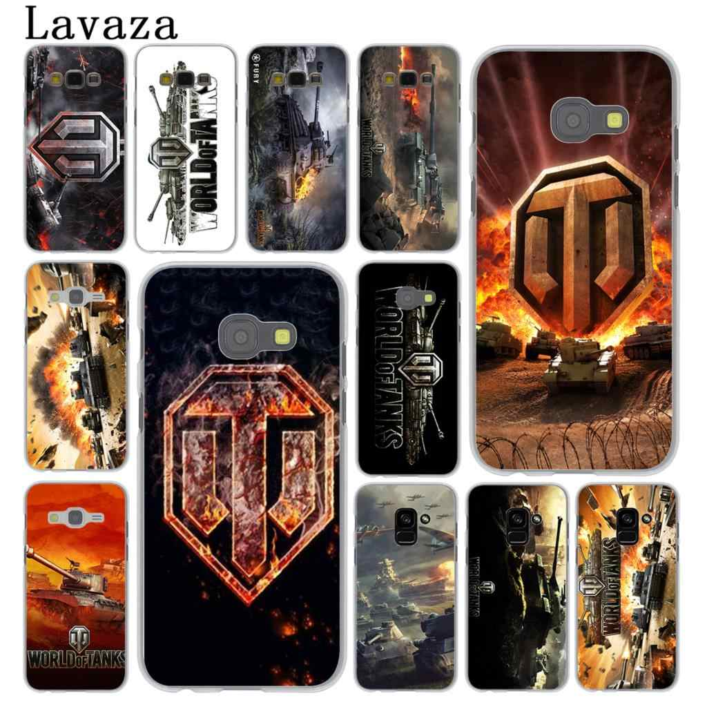 Lavaza world of tanks Caso Telefone Rígido para Samsung Galaxy Note 10 9 8 A9 A8 A7 A6 Plus 2018 A3 A5 2017 2016 2015 Tampa A2
