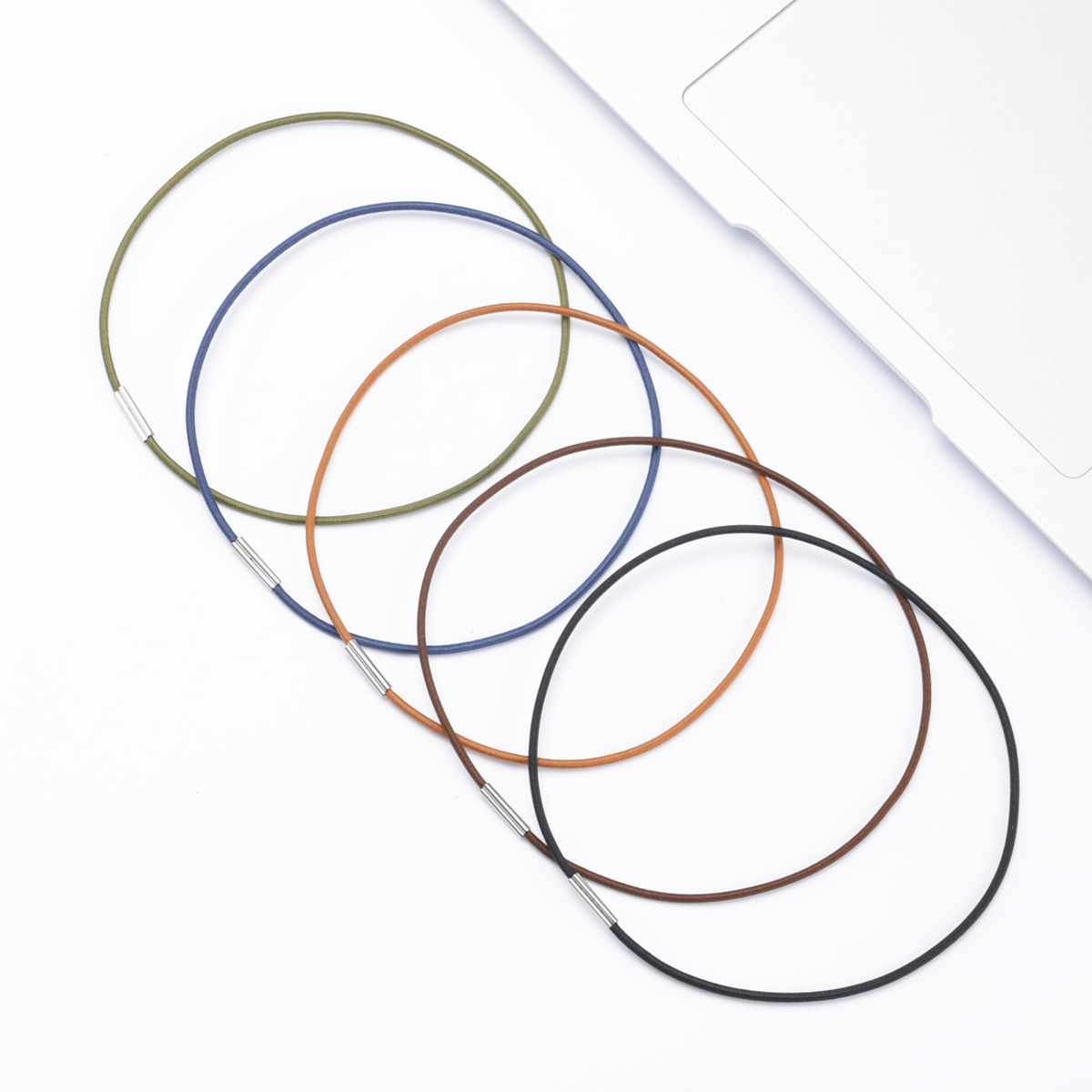 Retro Color Spare Rubber Band For Midori Travelers Notebook Inner Core Refill Filler Paper Repair Elastic String Bungee Cord