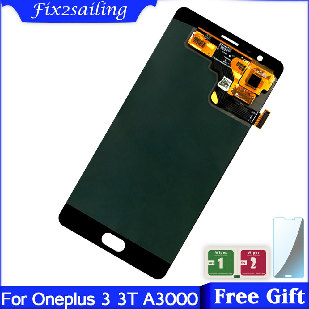 Oneplus 3 Lcd For Oneplus 3T A3010 / A3000 A300 3 LCD Display Touch Screen + Frame Free ShippingOneplus 3 Lcd For Oneplus 3T A3010 / A3000 A300 3 LCD Display Touch Screen + Frame Free Shipping