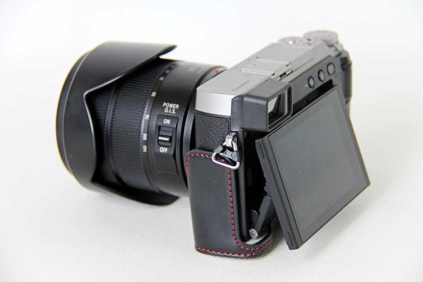 Resistente al agua cuerpo transversal//Bolso de Hombro para Cámara Panasonic Lumix GX85
