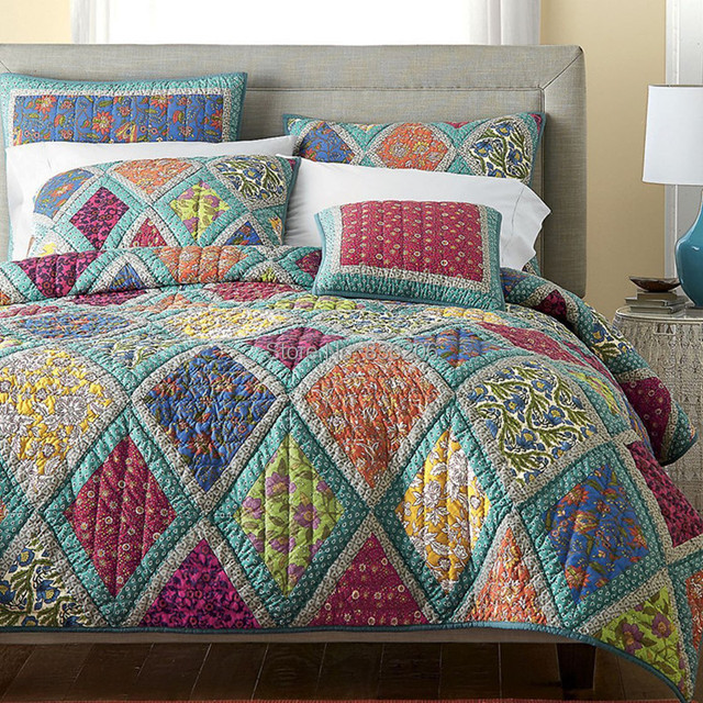 etc floral quilt bloom country comforter product collections large from patchwork