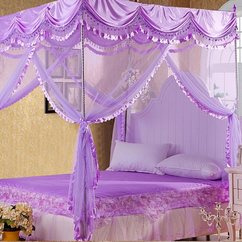 byetee hochwertige moskitonetz betthimmel vorhnge palace moskitonetz dreitrigen luxus betthimmel mit edelstahl rahmen in byetee hochwertige moskitonetz - Betthimmel Vorhnge