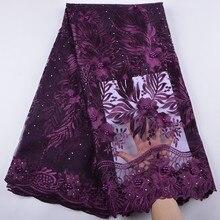 2018 ostatnie francuska nigeryjska koronki tkaniny wysokiej wysokiej jakości tiul tkanina z afrykańskiej koronki ślub afrykański francuski tiul koronki A1347