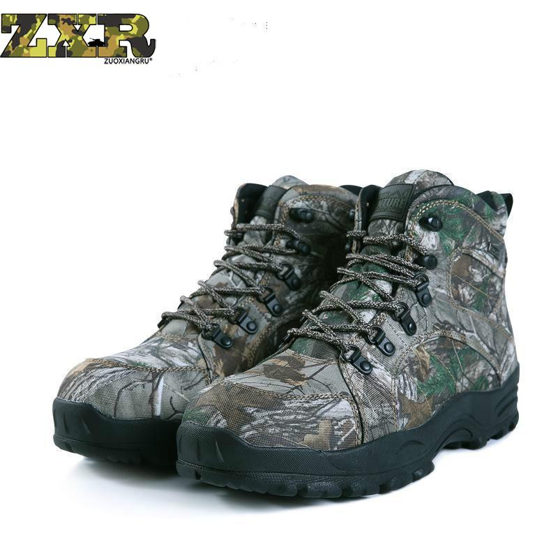 цены Waterproof Hiking Shoes Men Outdoor Shoes Anti-skid Wear Resistant Hiking Boots Breathable Mountain Climbing Walking Sneakers